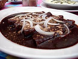 Enchilada de Mole