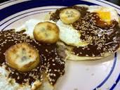 Rica receta de Huevos con Mole