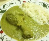 Receta sabrosa de Mole verde con pepita