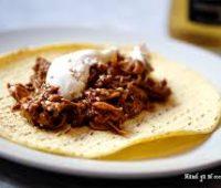 Receta de Tacos de Pollo con Mole Poblano