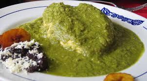 Receta de Mole Verde con Gallina