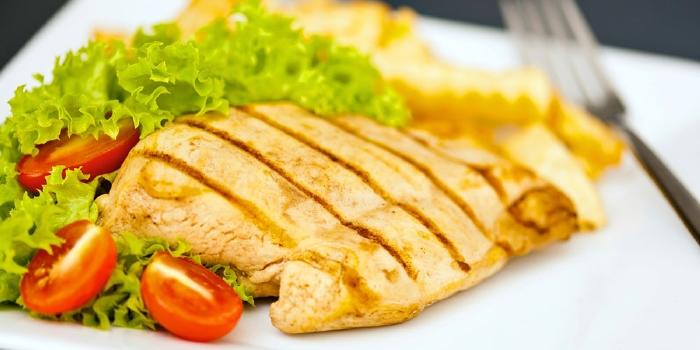 Receta de pollo a la plancha para nuestras dietas