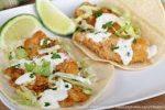 Receta de Tacos de Pescado Empanizado y Frito.