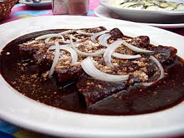 Típica Receta Mexicana de Enchilada de Mole ...