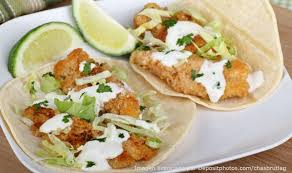 Receta de Tacos de Pescado Empanizado y Frito. Muy Sanos